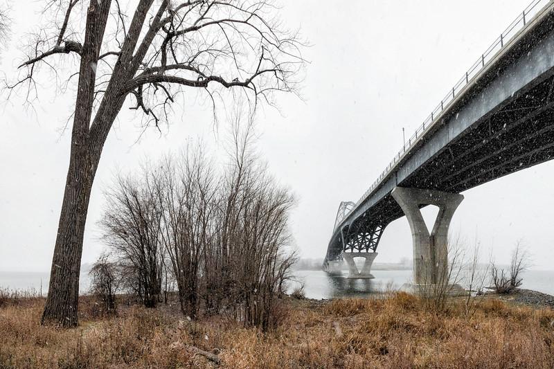 Champlain Bridge at Chimney Point, West Addison, 2017