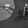 Biker at Oxbow Skatepark, Morrisville, 2017