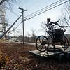 Oversize Bicycle Sculpture, Putney, 2017
