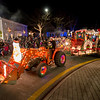Lighted Tractor Parade, Manchester Center, 2017