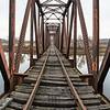 Abandoned Railroad Bridge over the Missisquoi, Sheldon, 2017