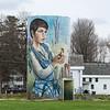 Silo Mural, Jeffersonville, 2017