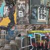 Graffiti on a City Wall, Brattleboro, 2017