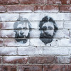 Graffiti on Brick Wall, Bellows Falls, 2013