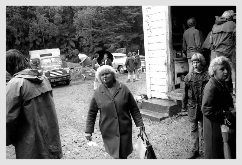 New Plymouth farm sale 1971.  I took this photograph shortly after arriving in NP and buying my Leica camera and 35mm lens.  I still use this lens 45 years later.
