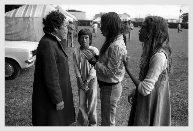 The argument.  Inglewood, Taranaki 1974