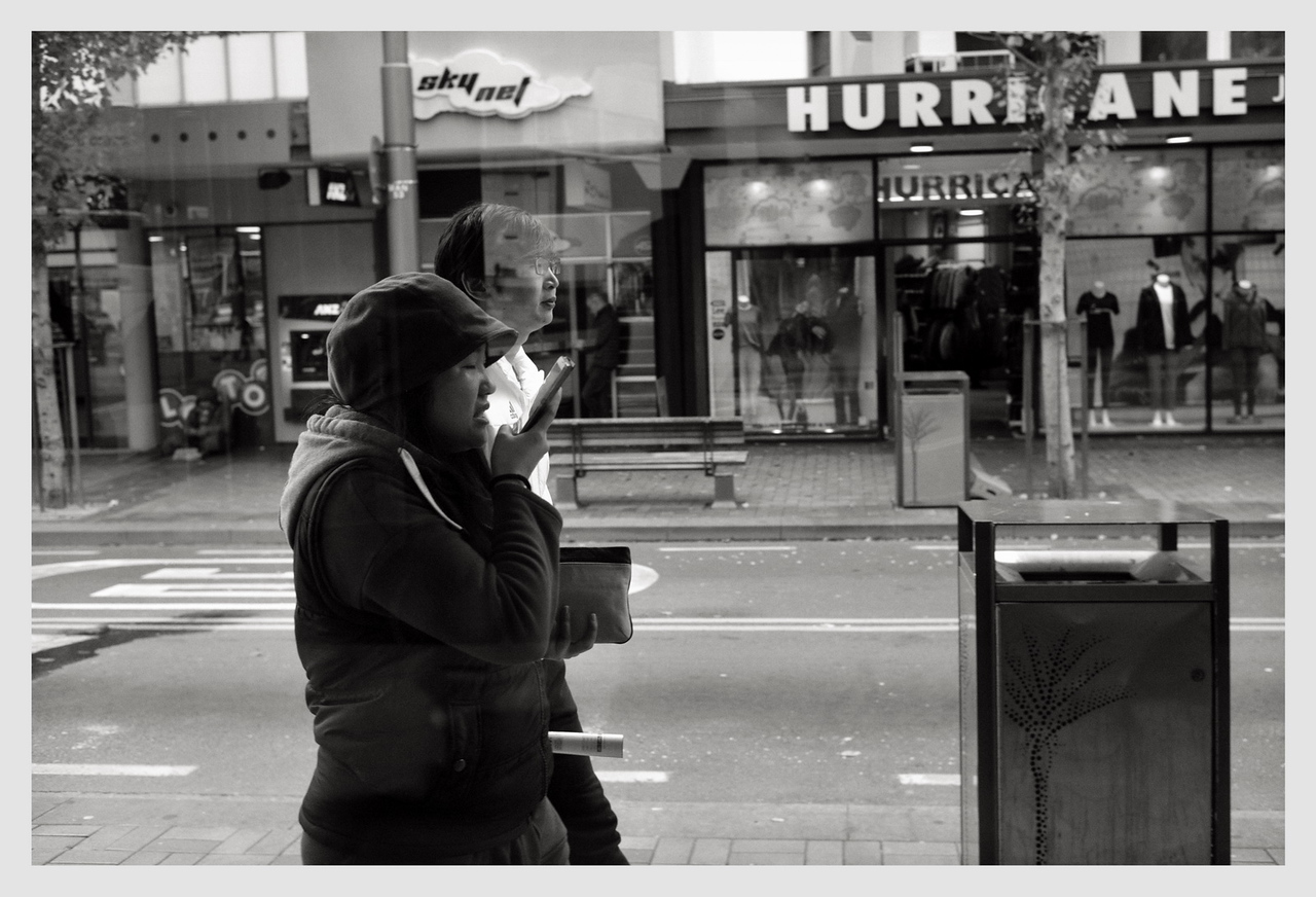 Manners St from McDonald's window 10/16