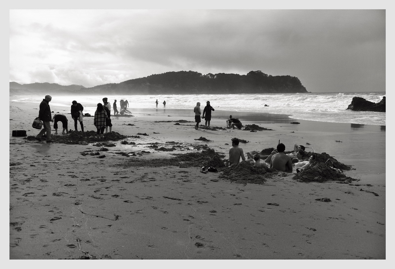 Hot Water Beach, Coromandel 06/2016