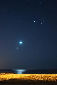 2012 8-13 SBPB Meteor and Crescent Moon-118