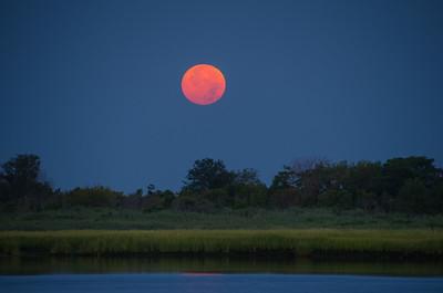2014 8-10 Super Moon Sea Bright Shrewsbury River Imbrie Place-41