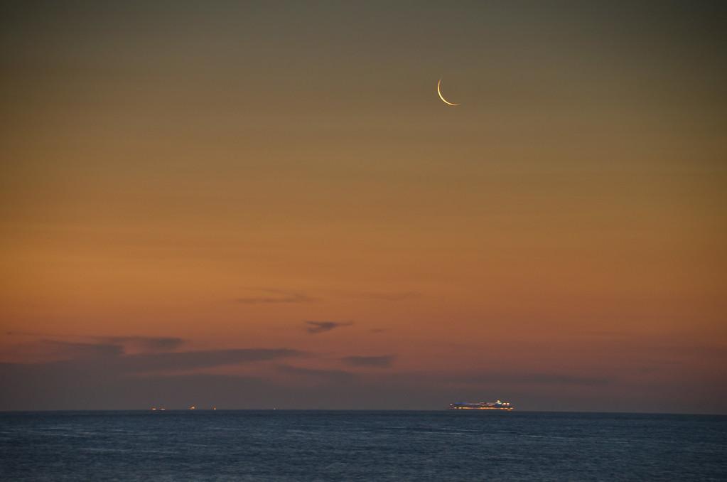 2013 7-6 Sea Bright Waning Crescent Jupiter Mars-44