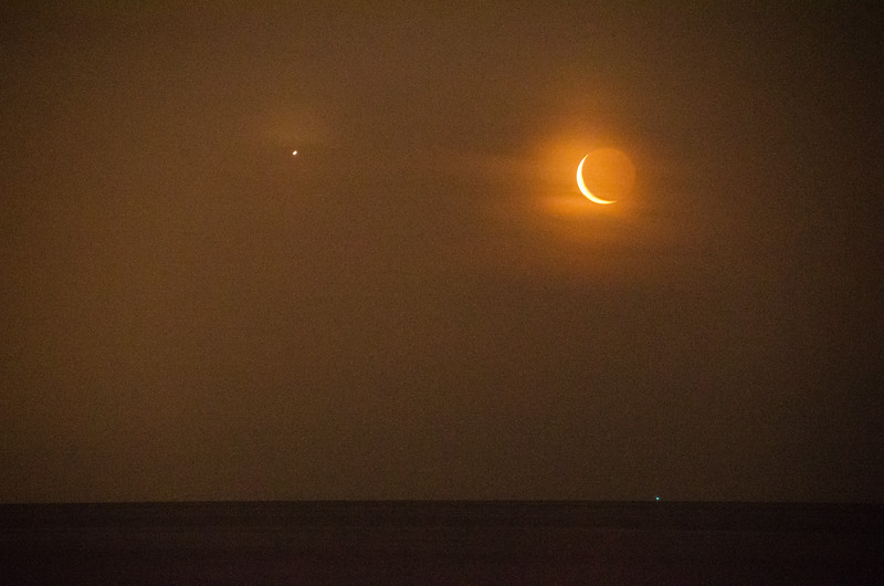 2014 6-24 Moon and Venus Monmouth Beach-42
