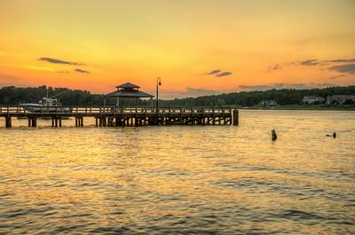 2014 6-27 FH Dock Sunset-7_8_9