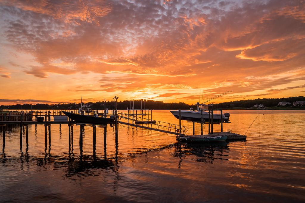 2016 7-11 Fair Haven Dock Sunset-1_Full_Res