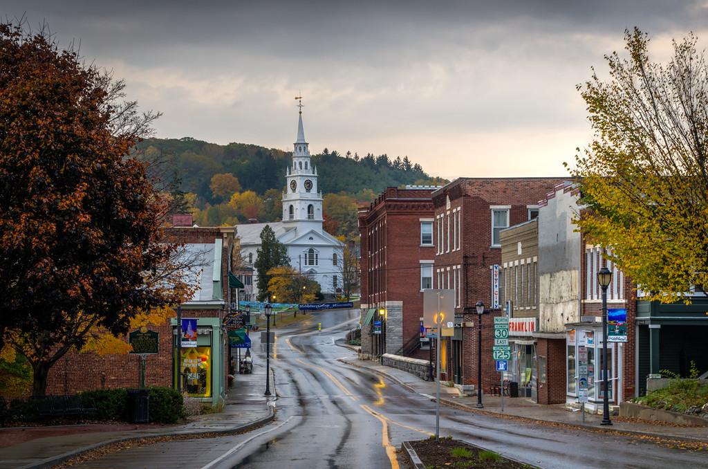 2014 10-18 Vermont Fall Foliage Middlebury Otter Creek Falls-83_4_5