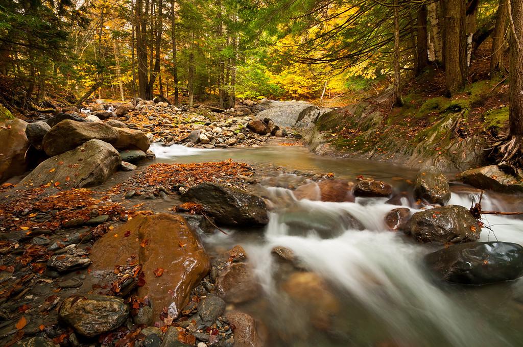 2012 10-7 Vermont Peak Fall Foliage and Waterfalls-30