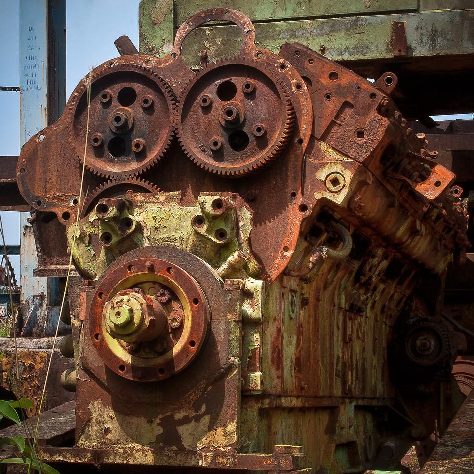Rusted Engine Block