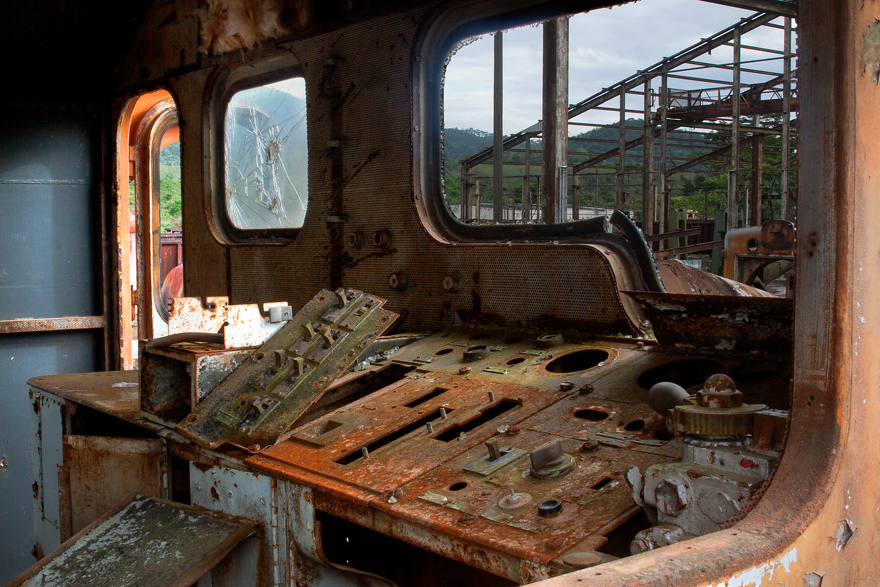 Locomotive Control Panel