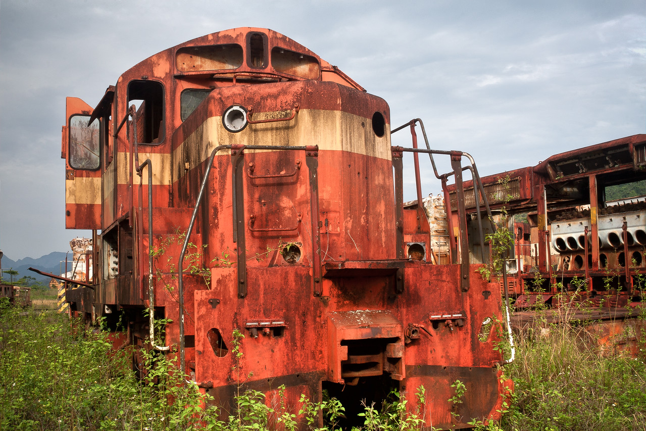 Derelict Locomotive