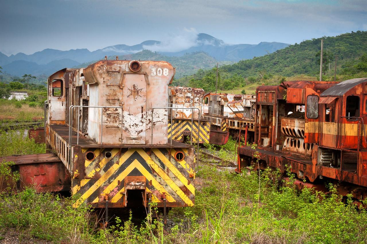 Yekepa Trainyard