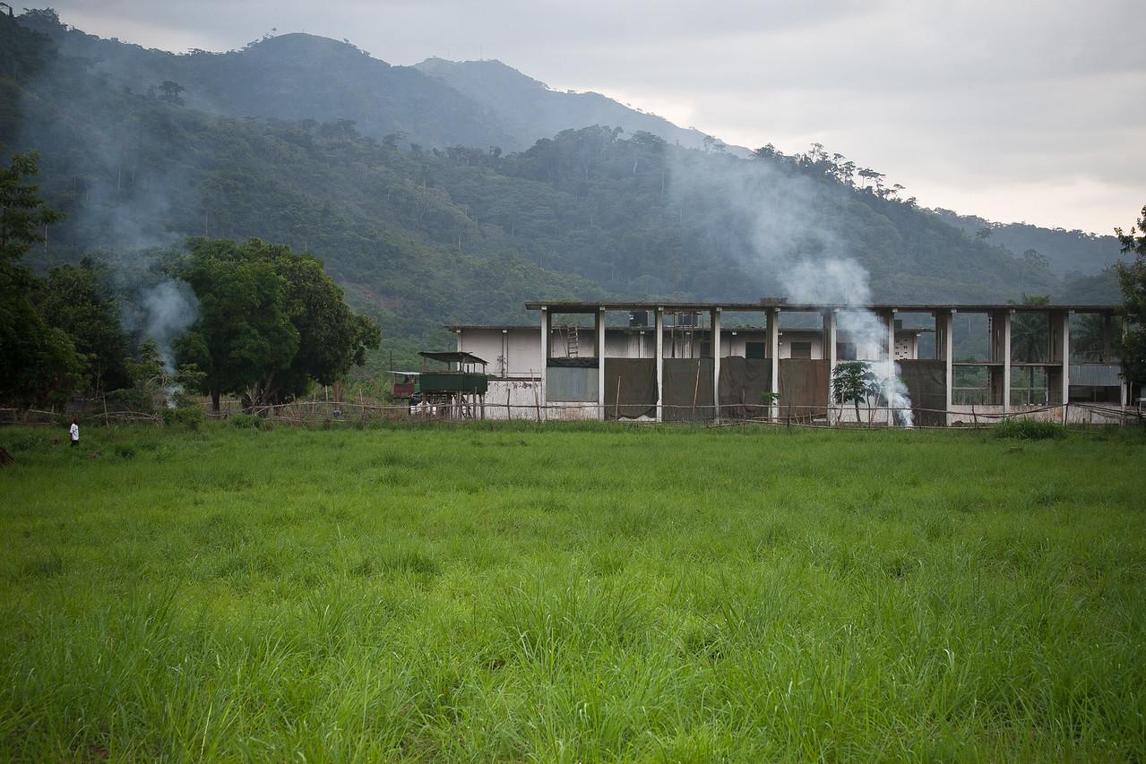 UN Compound in Yekepa