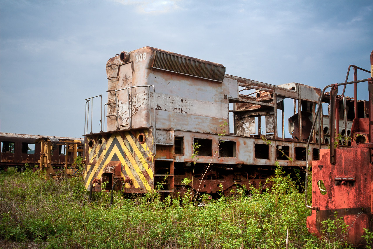 Abandoned Locomotive