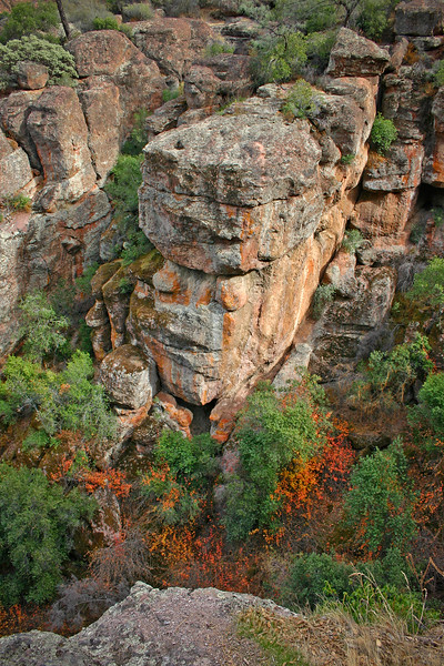 Face in the Rocks, Pinnacles National Park