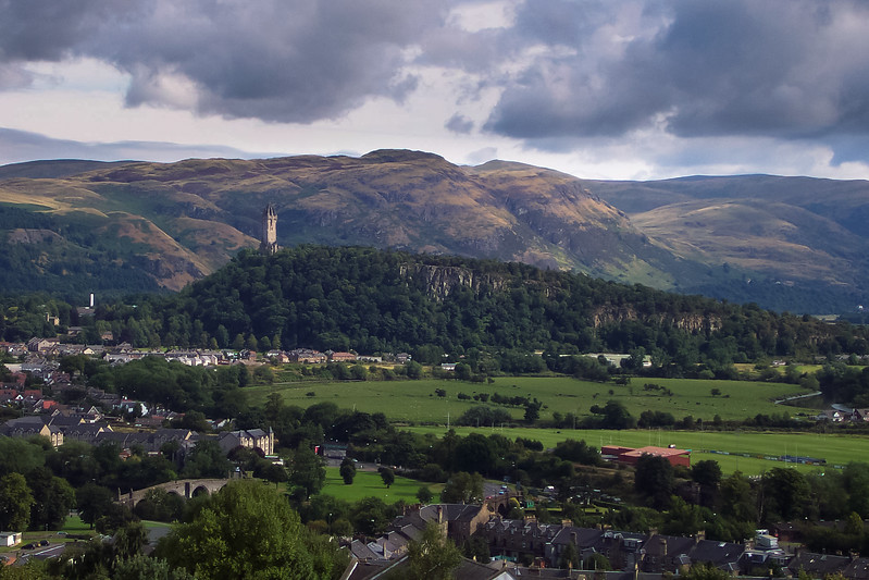 William Wallace Tower as Seen from Stirling Castle