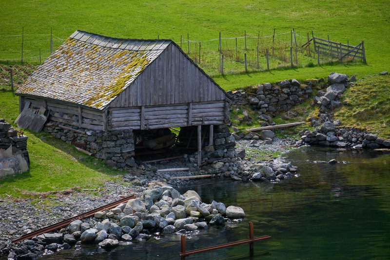 Fjord Visages - Old Boat House