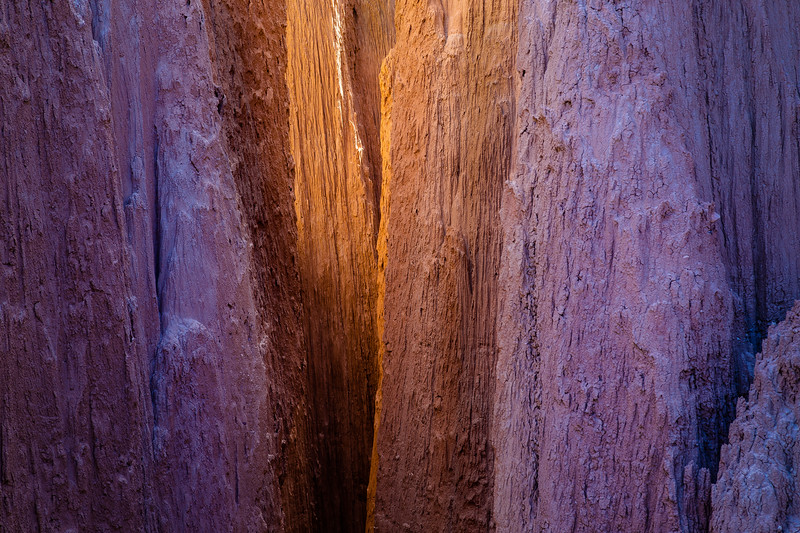 Light Filtering Through Catherdral Gorge