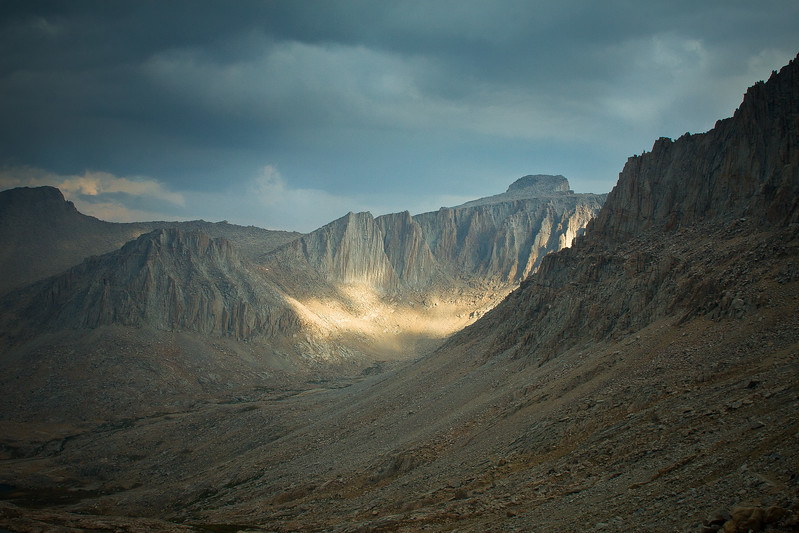 Sunstrike in the Eastern Sierras