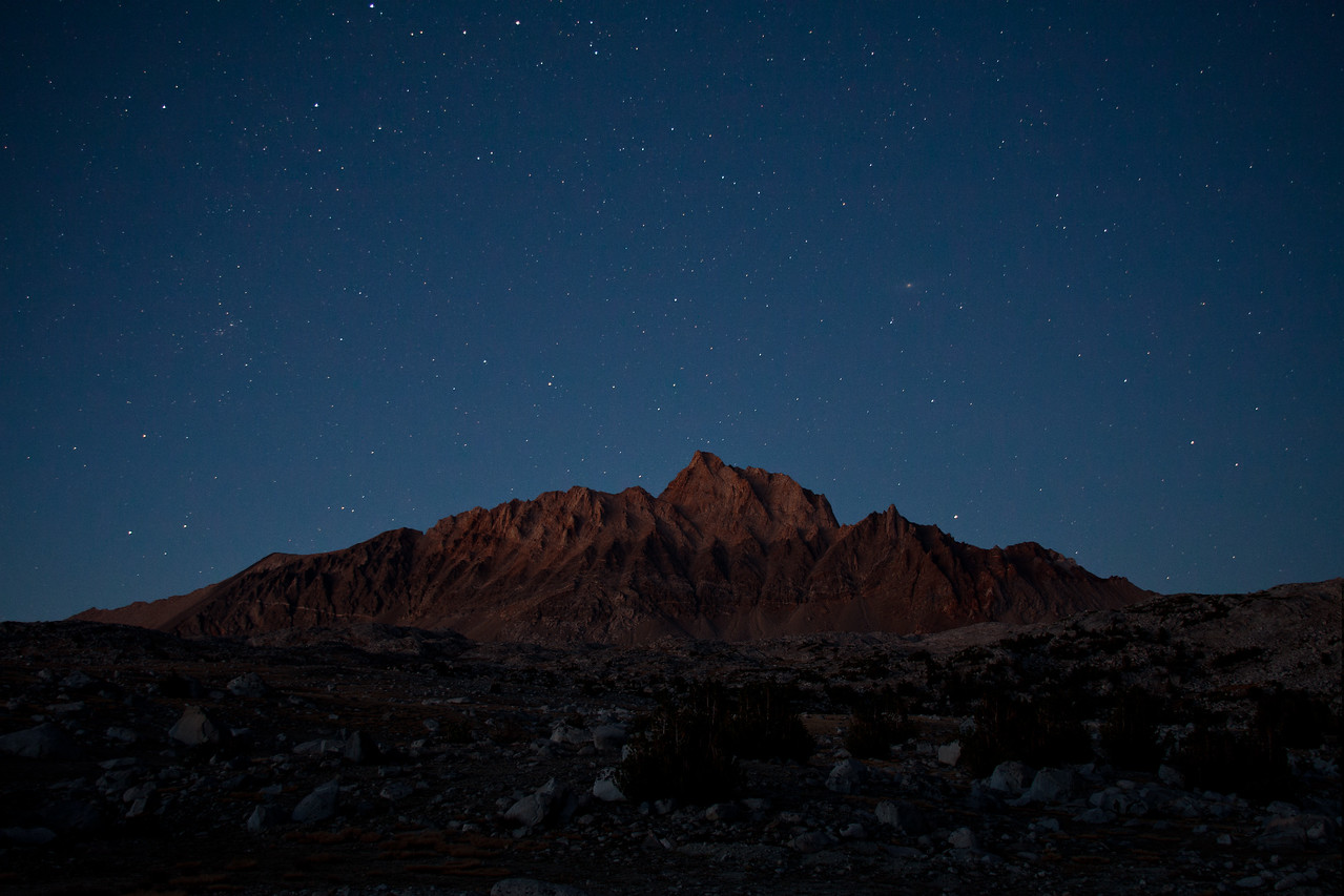 Mount Emerson at Night