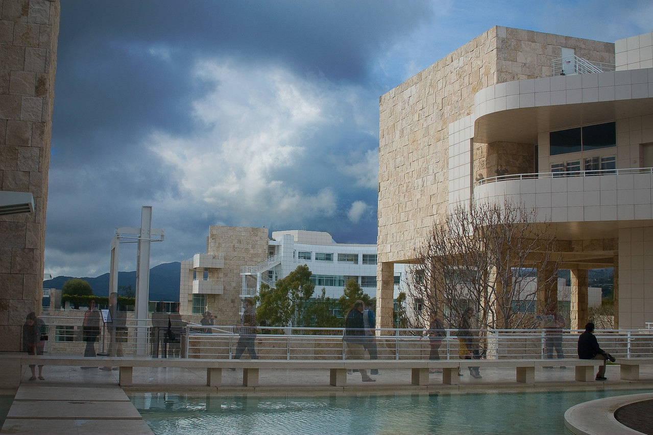 Not-So-Solitary Moment at the Getty Museum