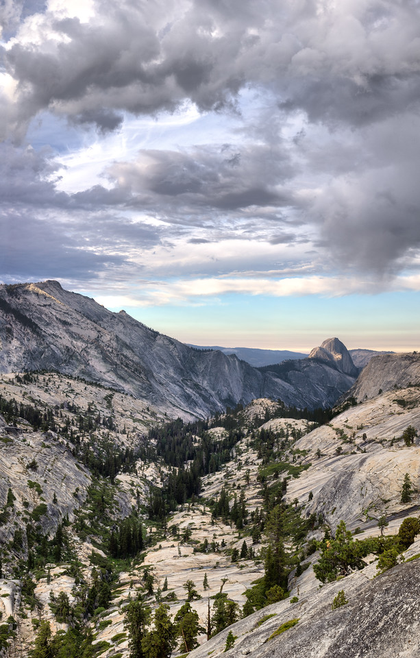 Half Dome from Olmsted Point Dome and Cloud's Rest from Olmsted Point