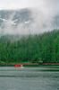 Red float plane, Misty Fjords