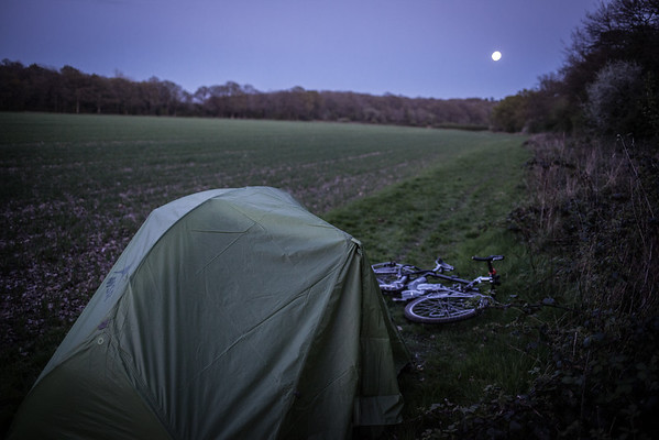 First Night Wild Camping