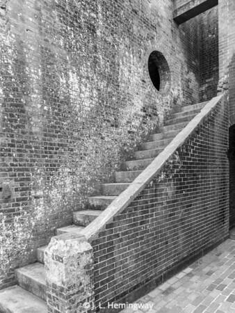 Fort Pulaski Stairs