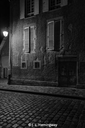 Bayeux Night Scene