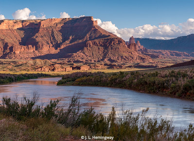Colorado River & Fisher Towers
