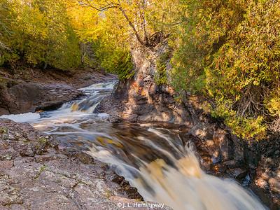 Cascade River (MN) in Fall