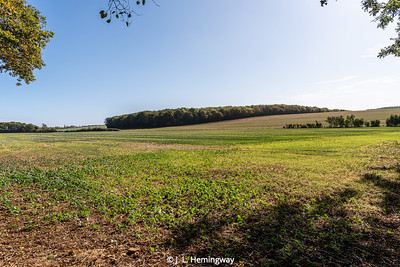View toward Varnéville, France from which 2/2/5 INF advanced on 10 & 11 Sep 1944 (2)