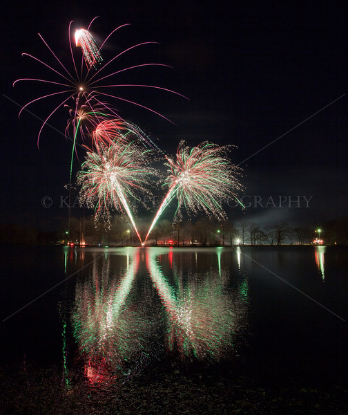 """Annual Tree lighting at Belmont Lake State Park. Excellent firework display by Bay Fireworks. (Click on """"FULLSCREEN"""" in upper right corner when watching slideshow  then sit back and enjoy."""