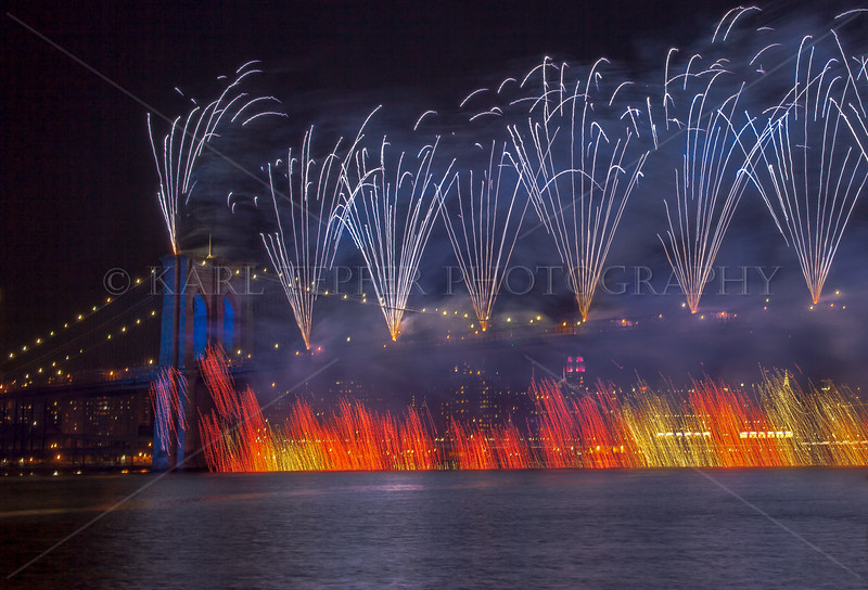 """July 4, 2014   The """"Flag"""" reaches the East River..."""