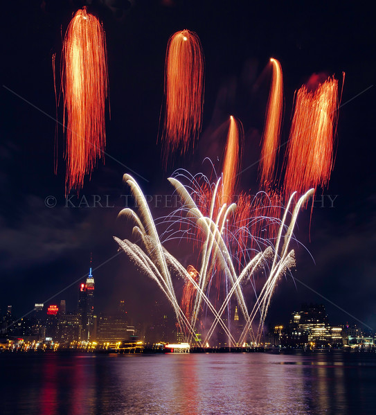 July 4, 2011 Fireworks over Manhattan
