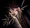 <h2>Multitude of sparks, trailing embers, and quite loud! Visual, auditory, and sensual cacophony