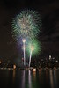 July 4, 2015  Fireworks over Mid-town Manhattan,  awesome display