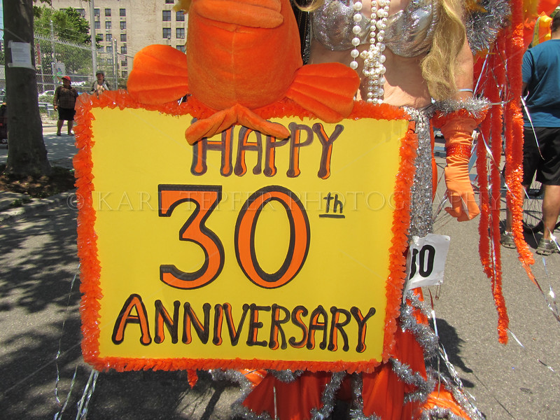 Yes, this was the 30th Anniversary of this great Parade 6/23/2012