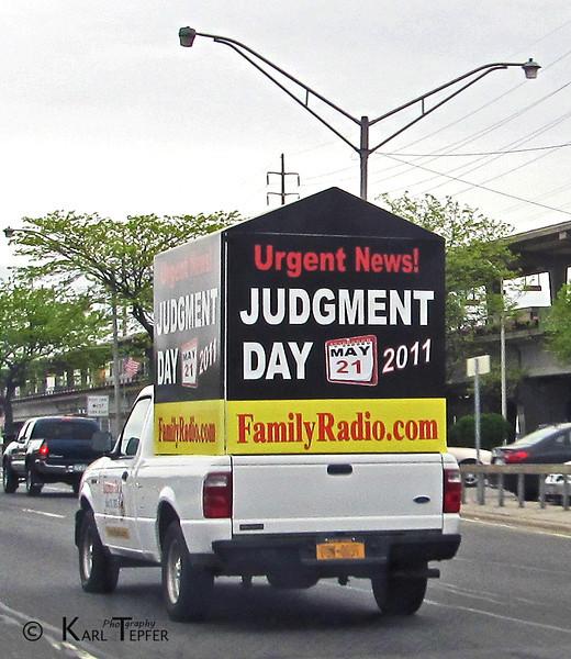 Uh oh....<br /> Rapture Van