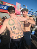 Coney Island Polar Bear Club Swim: New Year's Day 2009<br> Everton Football Club