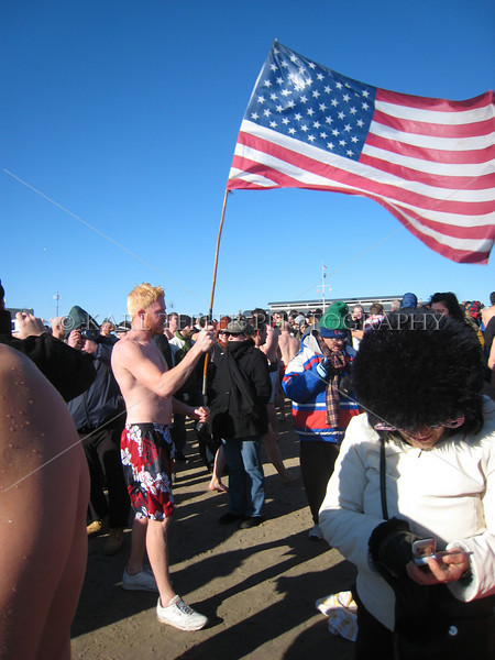 Coney Island Polar Bear Club Swim: New Year's Day 2009
